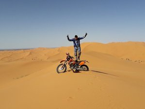 10 Day Unforgettable Enduro Dirt Bike Motorcycle Tour to Sand Dunes and Remote Villages in Morocco