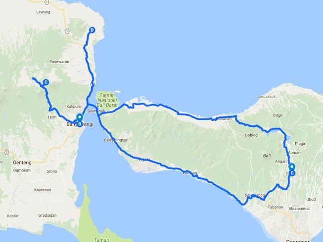 4 Days Guided Motorbike Tour Bali, Banyuwangi, and Situbondo