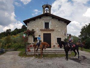 5 Days Short Break in the Saddle Horse Riding Holiday in Spoleto, Italy