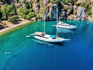 8 Days Yoga Cruise Adventure in Turkey