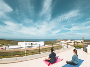 4 Day Surf and Yoga Holiday with Meditation, Music, and Healing in Arrifana Beach, Aljezur