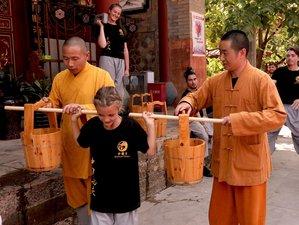 10 Days Authentic Shaolin Kung Fu Training in Shaolin Temple Yunnan, China