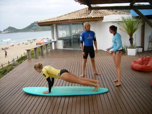 7 Tage Privates Surf Camp auf der Wunderschönen Insel Florianopolis