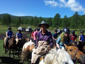 14 Day Orkhon Valley and Eight Lake Horse Trekking Holiday in Mongolia