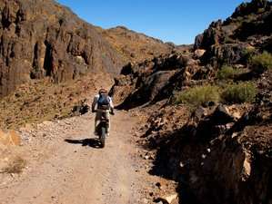 6 Day Mini Mountain and Desert Guided Motorcycle Tour in Morocco