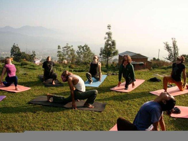 10-Daagse Navaratri Sadhana Meditatie en Yoga Retreat in Pokhara, Nepal