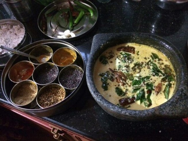 3 Days Vegetarian Cooking Holiday in Kerala, India