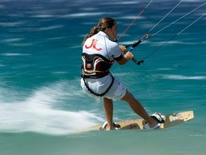 8 Days Beginner Kitesurfing Surf Camp Spain