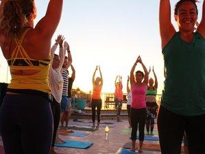 4 jours palpitants en stage de yoga et surf à Agadir, Maroc
