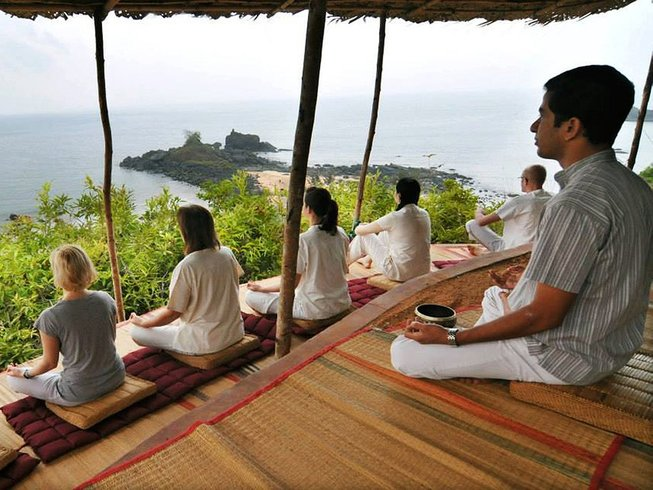 8 Days Meditation and Yoga Retreat in Gokarna, India