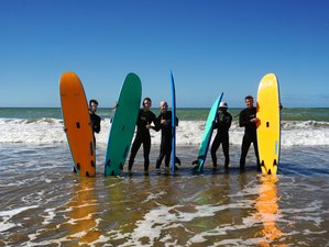 1 Week Sunset Surf Camp, with traditional cuisine and authentic accommodation, Tamraght, Taghazout.