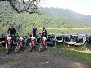 4 Days Hanoi, Vu Linh, and Ba Be Lake Guided Motorcycle Tour in Vietnam