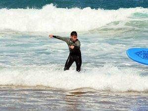 8 Days Intermediate Surf Camp in Ericeira, Lisbon Area, Portugal