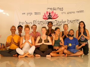 23 Day 200-Hour Traditional Ashtanga Vinyasa Yoga Teacher Training Course in Agonda, Goa