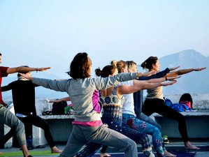 28 Days 200-hour Yoga Teacher Training: Vinyasa, Ashtanga, Iyengar & Hatha in Rishikesh, India