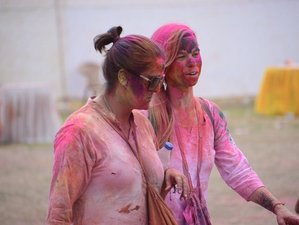 10 Day Festival of Colors Guided Motorcycle Tour in Rajasthan