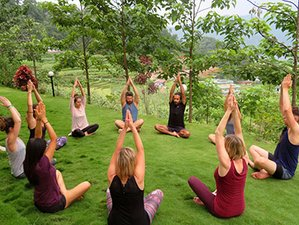 29 Day 200 Hours Purna Yoga Institute Traditional Hatha Yoga Teacher Training in Pokhara