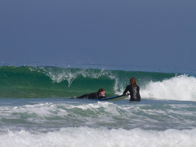 5 Days Yoga and Surf Retreat in Portugal