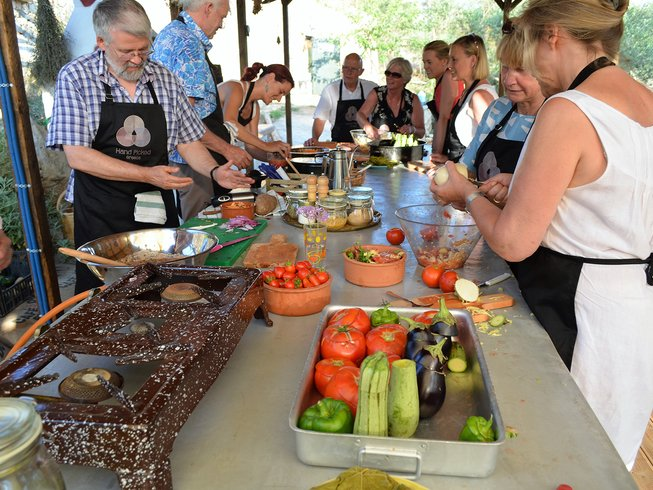 7 Days Vegetarian Cooking and Yoga Retreat in Greece