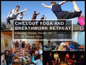 3 Days Chill Out Yoga and Breathwork Retreat in Devon, UK