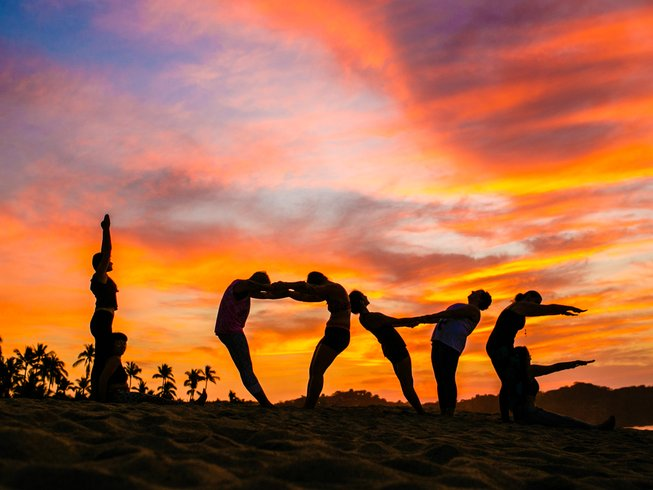 15 Days Yoga Alliance Yoga Teacher Training in La Ventana, BCS, Mexico