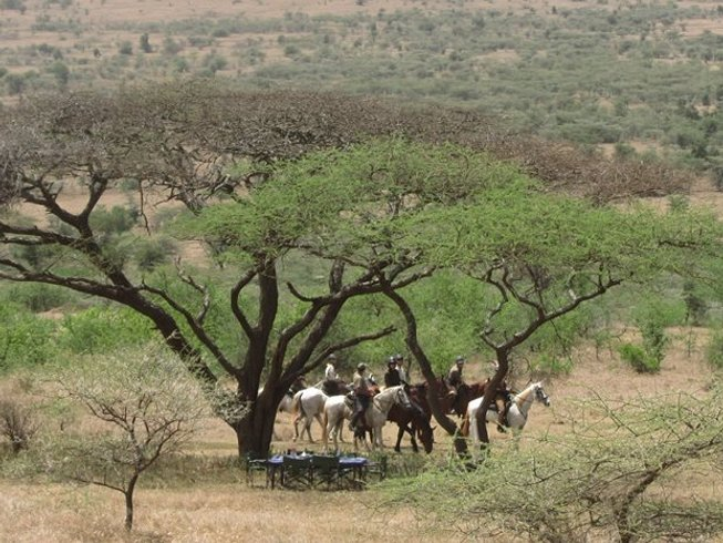 8 Days Horseback Safari in Tanzania