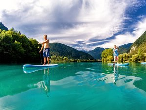 4 Day SUP, Hiking, and Biking Escape in Karst Region and Soca Valley in Ljubljana