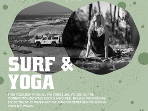4 Days Surf and Yoga at Bukubaki Eco Surf Resort in Peniche, Portugal