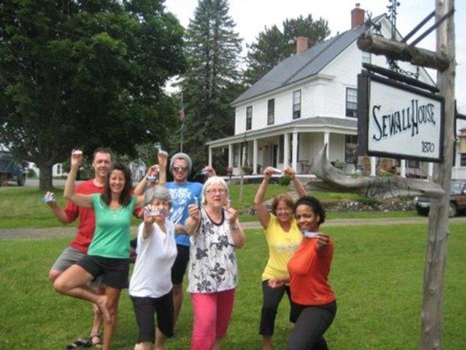 7 Tage Gefühlvoller Yoga Meditations Urlaub in Maine, USA