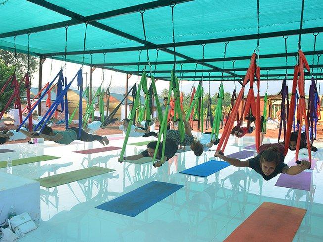 24 jours-200h de formation de professeur de yoga à Goa