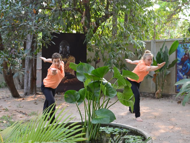 8 días retiro de yoga y sanación energética espiritual en Camboya