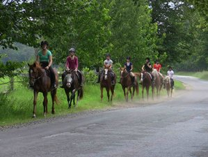 14 Days Children's Summer Ranch and Horseback Riding Vacation in New York, USA