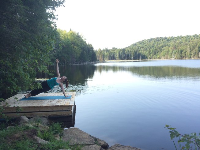 3 Days Harvest Moon Glamping and Yoga Retreat in Quebec, Canada