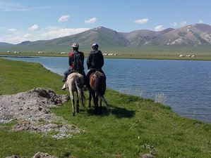 14 Day Point to Point Horse Riding Holiday in Kyrgyzstan
