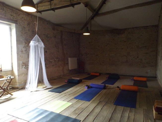 6 Tage Belebender Yoga Urlaub Frankreich