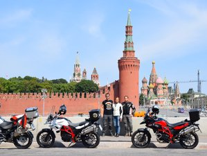 10 Day Moscow to Saint Petersburg Guided Motorcycle Tour Russia