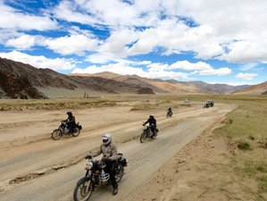 11 Day Royal Enfield Mongolia Guided Motorcycle Tour