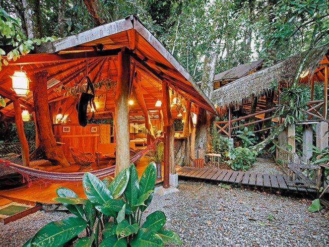 7-Daagse Relaxte Boomhuis Yoga Retraite in Costa Rica