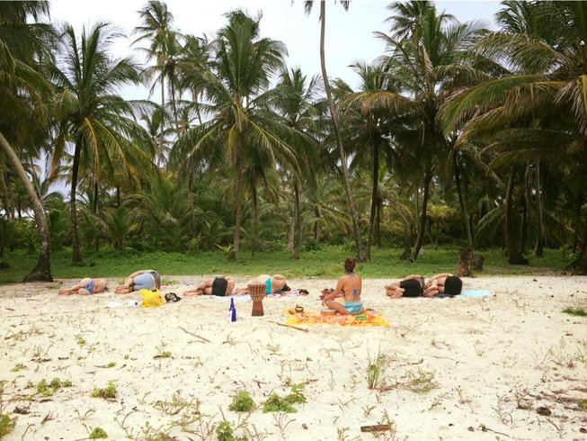 "4-Daagse ""Magical Island Escape"" Yoga Retraite in San Blas, Panama"