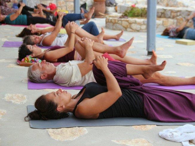 7 jours en stage de yoga et cuisine végétarienne en Crète, Grèce