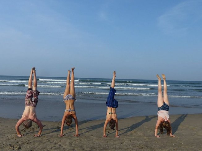 25 Days 200-Hour Hatha and Vinyasa Flow Yoga Teacher Training in Goa, India