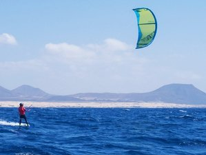 8 Day CBCM Kitesurf and Surf Camp in a Beach House in Corralejo, Fuerteventura, Canary Islands