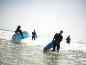 7 Day Coworking and Surf Camp for Beginner and Intermediate Surfers in Sidi Kaouki
