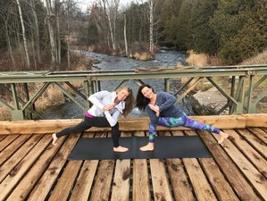 3 Tage Erwachsenen Camp & Yoga Retreat in Caledon, Kanada