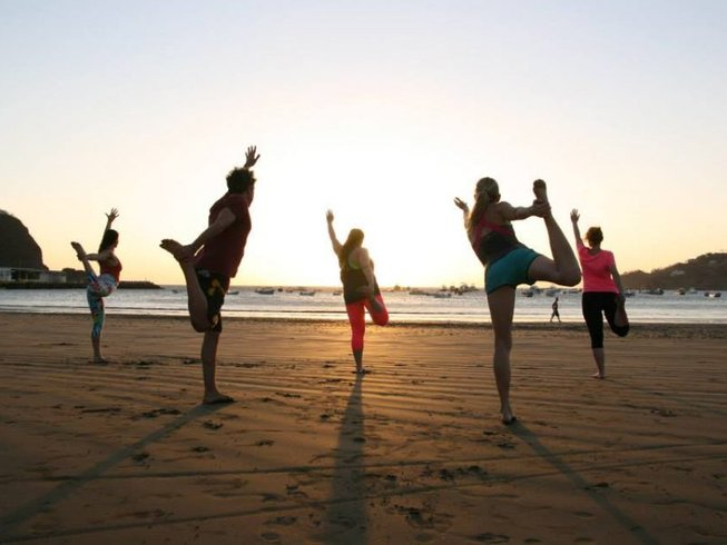 7 Tage Neujahrs Fest Yoga Urlaub San Juan del Sur, Nicaragua