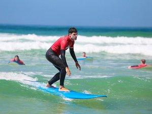 8 Days Beginner and Intermediate Surf Camp in Bensafrim, Portugal