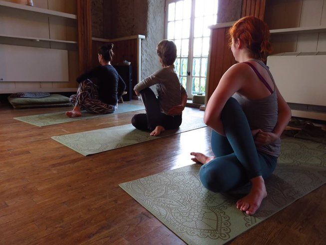 8 Days Midsummer Meditation and Yoga Retreat in France