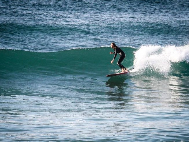 8 Days Green Wave Surf Camp in Sargacal, Lagos, Portugal