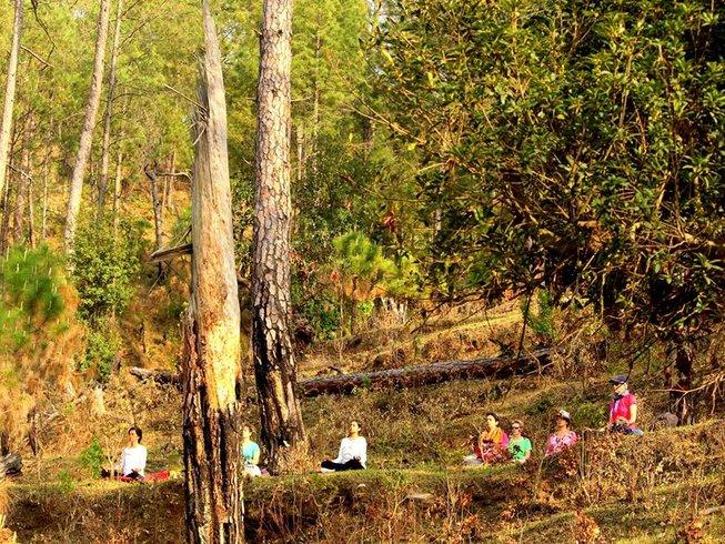 4 Tage Himalaya Meditation und Yoga Urlaub in Satkhol, Indien