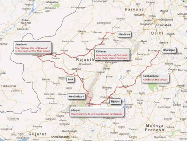 14 Days Luxury Rajasthan Motorbike Tour India
